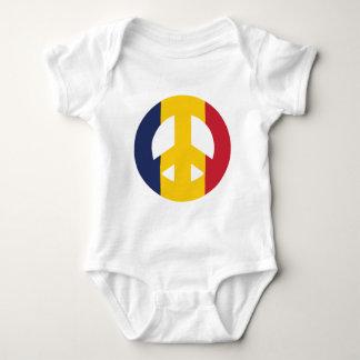 Tschad-Friedenszeichen Baby Strampler