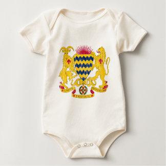 Tschad-Wappen Baby Strampler