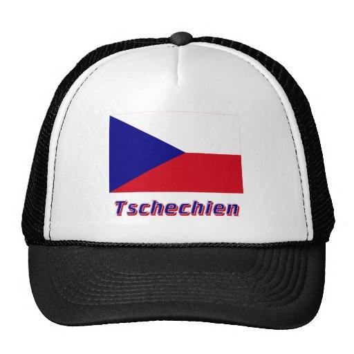 Tschechien Flagge MIT Namen