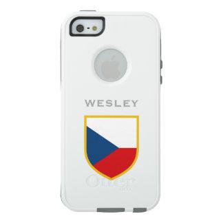 Tschechische Flagge besonders angefertigt OtterBox iPhone 5/5s/SE Hülle