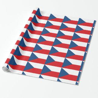 Tschechische Flagge Geschenkpapier