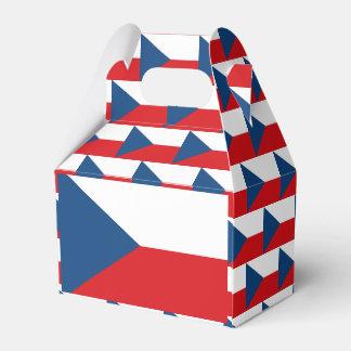 Tschechische Flagge Geschenkschachtel