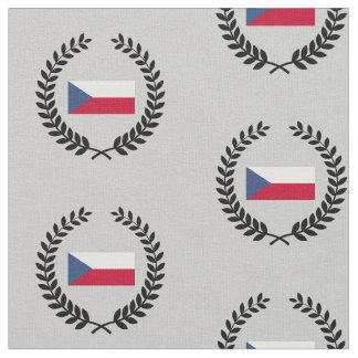 Tschechische Flagge Stoff