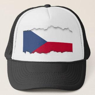 Tschechische Flagge Truckerkappe