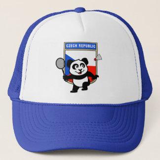 Tschechische Republik-Badminton-Panda Truckerkappe