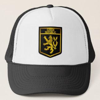 Tschechische Republik-Emblem Truckerkappe