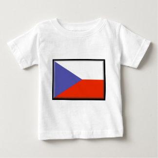Tschechische Republik-Flagge Baby T-shirt