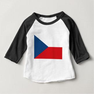 Tschechische Republik-Flagge - Česká vlajka Baby T-shirt