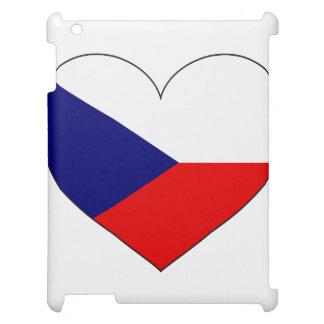 Tschechische Republik-Flagge einfach iPad Hülle