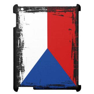 Tschechische Republik-Flagge Hülle Für iPad