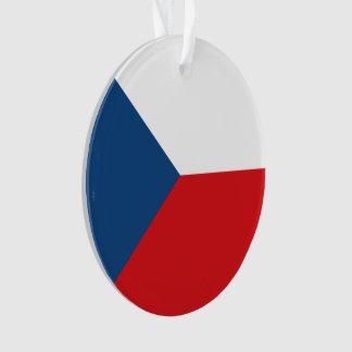 Tschechische Republik-Flagge Ornament