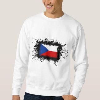 Tschechische Republik-Flagge Sweatshirt