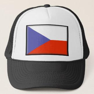 Tschechische Republik-Flagge Truckerkappe