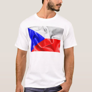 Tschechische Republik-Flaggen-T - Shirt