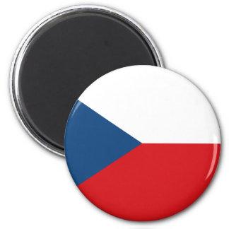 Tschechische Republik Runder Magnet 5,7 Cm