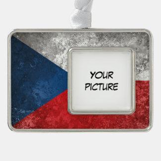 Tschechische Republik Rahmen-Ornament Silber