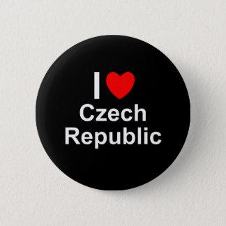 Tschechische Republik Runder Button 5,7 Cm