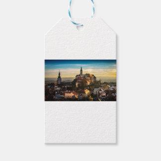Tschechische Republik-Skyline Geschenkanhänger
