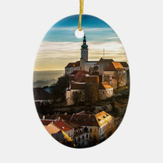 Tschechische Republik-Skyline Keramik Ornament