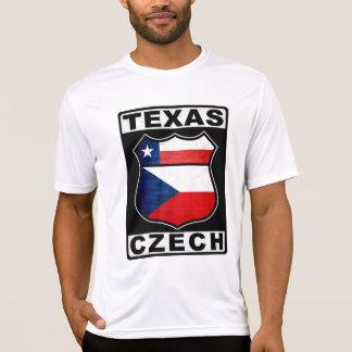 Tschechischer Amerikaner Texas T-Shirt