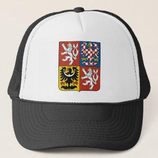 tschechisches Emblem Truckerkappe
