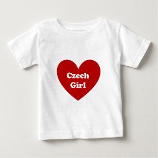tschechisches Mädchen Baby T-shirt