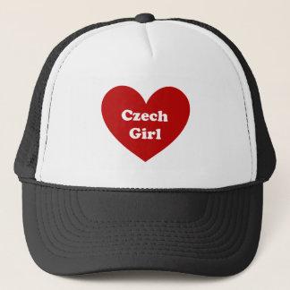 tschechisches Mädchen Truckerkappe