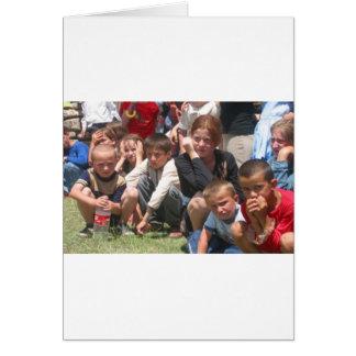 Tschetschenische Kinder Grußkarte