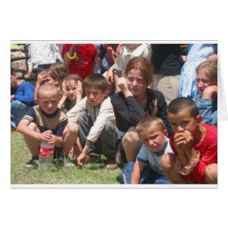 Tschetschenische Kinder Grußkarten