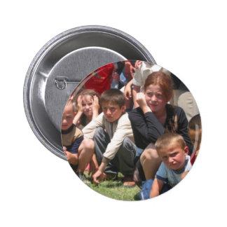 Tschetschenische Kinder Runder Button 5,7 Cm