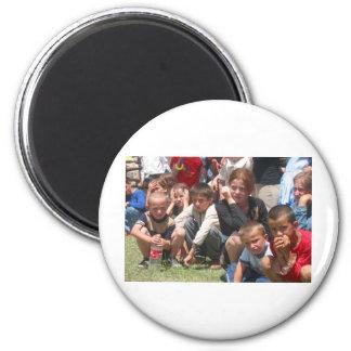 Tschetschenische Kinder Runder Magnet 5,1 Cm