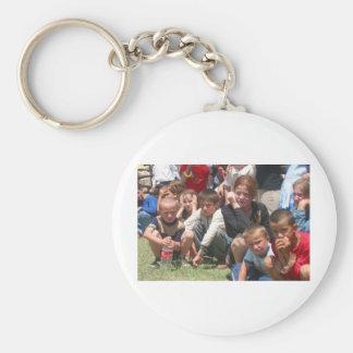 Tschetschenische Kinder Schlüsselband