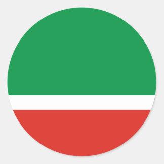 Tschetschenische Republik Runde Aufkleber