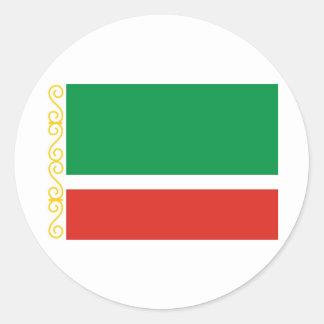 Tschetschenische Republik Runde Sticker