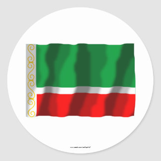 Tschetschenische Republik-Flagge Sticker