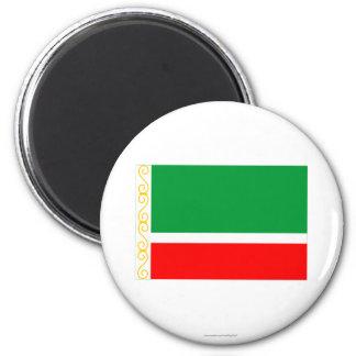 Tschetschenische Republik-Flagge Kühlschrankmagnet