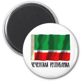 Tschetschenische Republik-Flagge Kühlschrankmagnete