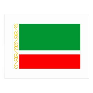 Tschetschenische Republik-Flagge Postkarten