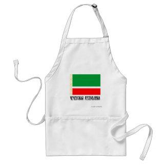 Tschetschenische Republik-Flagge Schürzen