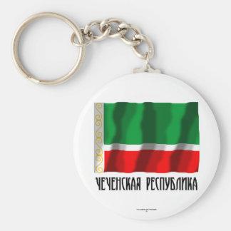Tschetschenische Republik-Flagge Schlüsselband
