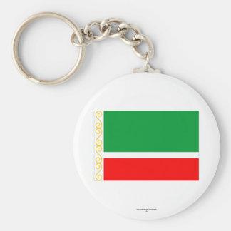 Tschetschenische Republik-Flagge Schlüsselbänder