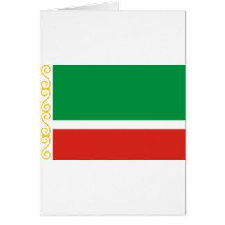 Tschetschenische Republik Grußkarte
