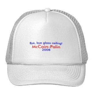 Tschüss, abgelegene Glasdecke! McCain-Palin Hut 20 Baseballmützen