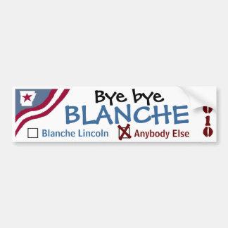 Tschüss Blanche Autoaufkleber