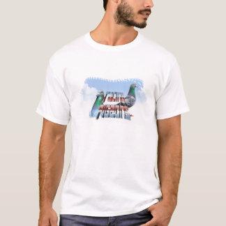 Tshirt Racing pigeons