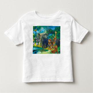 Tshirt Tierkinder des Dschungels