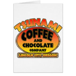 Tsunami Coffee & Chocolate Company Karte