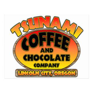 Tsunami Coffee & Chocolate Company Postkarte
