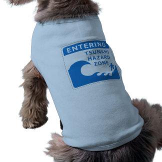 Tsunami-Gefahrenzone, Britisch-Columbia, Kanada T-Shirt