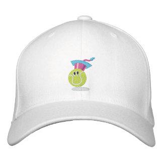 TTA_smiling Ball + Name auf Seite Bestickte Kappe